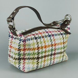 Handbags - Wool and Leather Wristlet - New Condition!